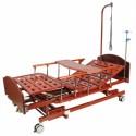 Кровать механическая E-31 MM-026Н (3 функции) с ростоматом и полкой