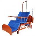 Кровать механическая Е-45А( ММ-152Н) с боковым переворачиванием, туалетным устройством и функцией «кардиокресло»
