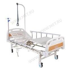Кровать электрическая DB-7 MM-77Н (2 функции) с полкой и накроватным столиком