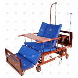 Кровать электрическая DB-11А (ММ-21, ММ-121Н) с боковым переворачиванием, туалетным устройством и функцией «кардиокресло»