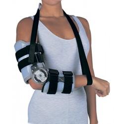 Ортез для локтевого сустава пост-операционный шарнирный с регулируемым замком Irom elbow DonJoy 11-0180, 11-0181
