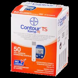 Тест-полоски Contour TS №50 шт