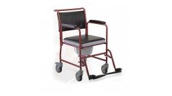 Кресла инвалидные с санитарным оснащением  (на колесах, пассивного типа)
