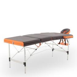 Массажный стол складной алюминиевый Med-Mos JFAL01A 3-х секционный