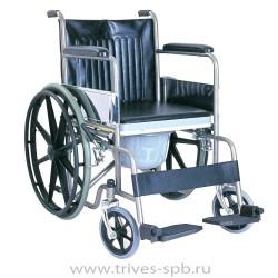 Кресло-коляска с ручным приводом от обода и с санитарным устройством CA609BE